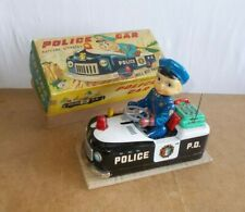 Vintage tin toy - MODERN TOYS MT Japan - POLICE CAR ( Ref 3167 ) in box - 50s