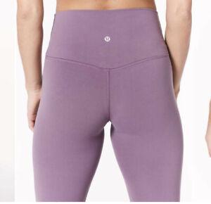 "Lululemon Align Pant II 25"" size 2 Smoked Mulberry NWOT Purple Gym Yoga Legging"