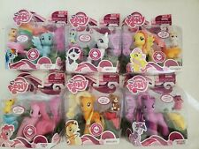 My Little Pony Mane 6 Set - Brushables, saddle and play - pets & accessories NiB