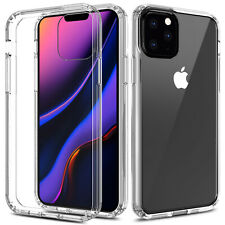 For Apple iPhone 11 Pro Max 6.5inch Shockproof Crystal Clear TPU Slim Case Cover