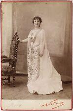 Mlle Pratt, Singer, Contralto, Opéra, Photo Cabinet card, Nadar