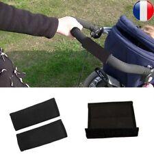 Bébé Poignée Housse Protection Poussette Accoudoir Poignée Éponge Mousse Noir NF