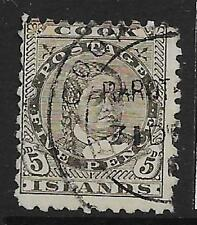 Used Victorian (1840-1901) Cook Islander Stamps (Pre-1965)