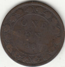 1886 Victoria Large Cent G 4