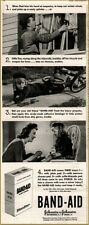 1943  Band Aid Family Injured Mom Helps Print Ad