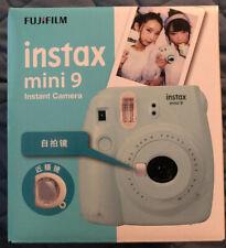 Fujifilm Instax Mini 9 Ice Blue Instant Film Camera With Case And Accessories
