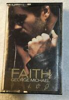 George Michael - Faith (Cassette,1987 Columbia)
