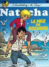 EO WALTHÉRY + PEYO + SP + DESSIN ORIGINAL NATACHA N° 19 : LA MER DE ROCHERS