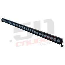 "51"" LED Light Bar Combo Beam Construction Backhoe Loader Excavator Skid Steer"