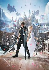 Final Fantasy XV (15) Noctis & Luna -  Wall Poster 30 in x 20 in - Fast Shipping