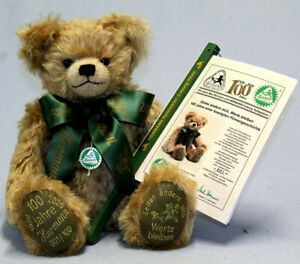 Hermann Spielwaren 100th Jubilee Teddy Bear - limited edition collectable