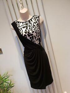 Lipsy Black Bodycon Dress Size 10