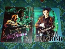 (8) Vintage NEIL DIAMOND World Tour Concert Program Books