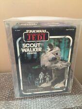 Vintage 1983 Kenner Star Wars Return Of The Jedi Scout Walker AFA 80