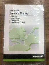 Kawasaki Service Manual-Fits 2015 - 2020 Concours® 14 ABS-Genuine Kawasaki-New