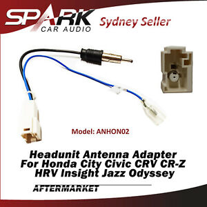 Antenna Adaptor Adapter Car Radio Plug For Honda Jazz 2014+ Odyssey 2009+ AD