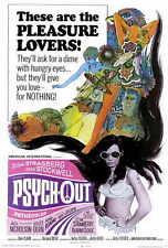 PSYCH-OUT Movie POSTER 27x40 Jack Nicholson Bruce Dern Susan Strasberg Dean