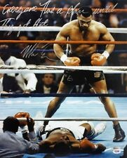 Mike Tyson RP 8x10 Everybody Has A Plan Until They Get Hit PP