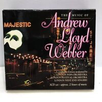 The Music of Andrew Lloyd Webber [Box] by Various Artists (CD, Mar-1998, 3 Discs