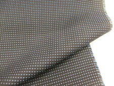 48 metre (Full Roll) Navy & Blue Dotted British Wool Blend Upholstery Fabric