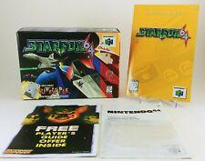1997 Starfox 64 & Rumble Pack Nintendo 64 (N64) ORIGINAL BOX & INSTRUCTIONS Only