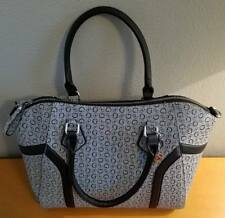 AUTHENTIC NEW NWT GUESS AVERELL BLACK GREY SATCHEL CROSSBODY Purse BAG