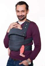 Marsupi Baby und Kindertrage I kompakte Bauch und Hüfttrage I S/M I grau/grey