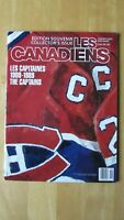 MONTREAL CANADIENS 1989 CAPTAINS magazine Jean Beliveau Maurice Henri Richard ++