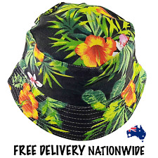 [NEW] Bucket Hat - Jungle Canvas - Leafy Green - Free Delivery Nationwide.