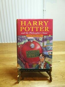 Rare Harry Potter And The Philosopher's Stone J K Rowling First Edition H/B 4th