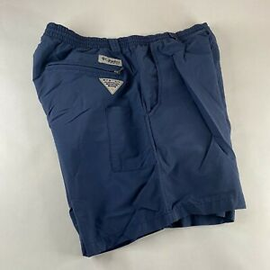 Columbia Omni Shade Men's Outdoor Lightweight Shorts Nylon Small *Liner Removed