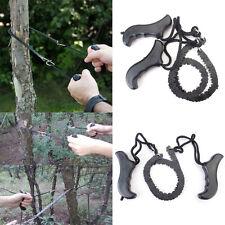 Outdoor Tasche Hand Kettensäge Notfall Camping Survival Ketten Säge Sägekette