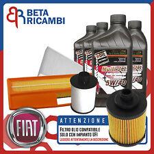 Kit Tagliando Fiat Punto 1.3 Multijet + 4 L Roil MTJ 5W40 (IMPIANTO UFI)