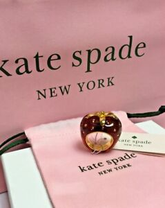 NWT Kate Spade New York tutti fruity strawberry resin ring size 7  New