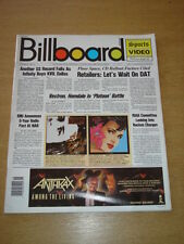 BILLBOARD MAGAZINE 1987 APR 11 SAINTS GREAT MUSIC PHOTOS & ARTICLES