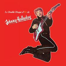 CD Le double disque d'or de Johnny Hallyday