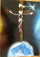 One of a Kind Original Painting The Cosmic Cross