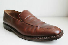 STEFANOBI MENS BROWN LEATHER SHOES SIZE 13