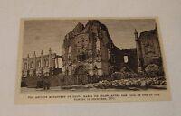 1879 magazine engraving ~ ANCIENT MONASTERY,SANTA MARIA DE BELEN