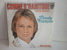 CLAUDE FRANCOIS Comme d habitude 6172 101