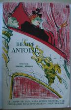 PROGRAMME THEATRE ANTOINE * GEORGES FEYDEAU - LA MAIN PASSE - DESSIN T.LAUTREC