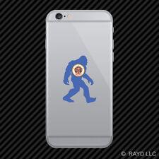 Minnesota Bigfoot Cell Phone Sticker Mobile MN big foot sasquatch yeti
