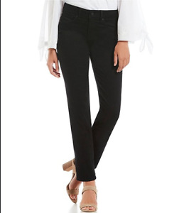 NYDJ NOT YOUR DAUGHTERS JEANS BLACK 12 / 16 / 42