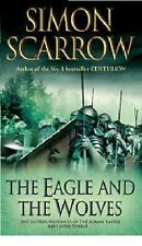 SIMON SCARROW __ THE EAGLE AND THE WOLVES  __ SHOP SOILED __ FREEPOST UK