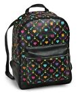 Back to School The Cache Backpack by Pixelle Black Pixel Art Gamer Brand New