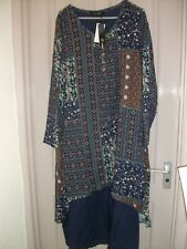 Patchwork Dress 2XL New with Tags, multi colour, From Newchic