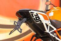 EVOTECH KIT PORTATARGA COMPLETO REGOLABILE KTM 1290 SUPERDUKE R + LUCE TARGA