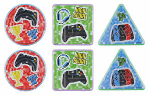6 Gamer Maze Puzzles - Pinata Toy Loot/Party Bag Fillers Childrens/Kids