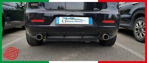 alfa romeo 159 dam posteriore alette sottoparaurti abs tuning sportiva adesivo