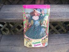 New 1994 Pioneer Barbie Special Edition American Stories #12680 By Mattel